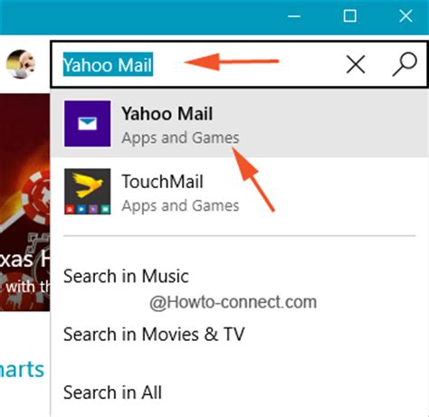 How To Search Email In Yahoo Mail Yahoo Mail App Windows 10 Setup Import Contacts Add