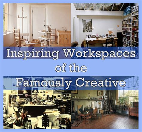 inspiring workspaces 40 inspiring workspaces of the famously creative see if