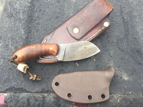 Handmade Knives Usa - wts t m hunt custom knives fox kit bushcraft usa forums