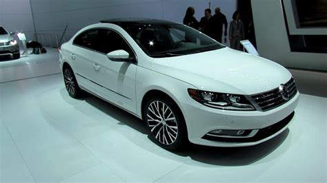 Auto Cc by 2013 Volkswagen Cc Exterior And Interior At 2012 New York