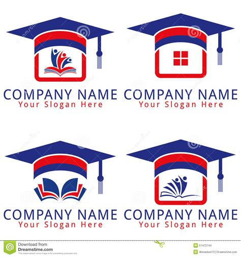 school logo design template stock images education school logo concept image 57472744