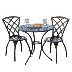 Bistro Patio Table And Chairs Set Glenbrook Bistro Set Best Patio Furniture Sets