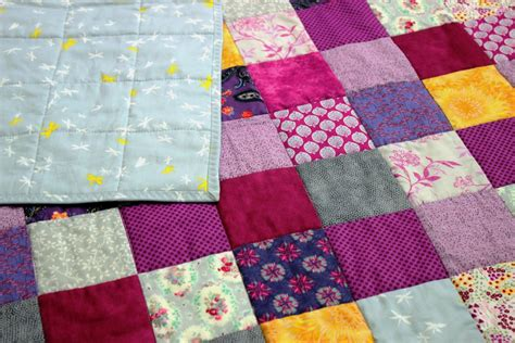 Grey Patchwork Quilt - purple and grey patchwork quilt coralie green