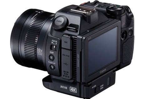 compact 4k canon xc15 compact 4k camcorder