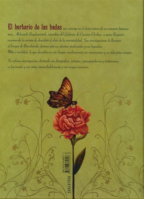 el herbario de las 8426381820 el herbario de las hadas ilustraciones de benjamin lacombe