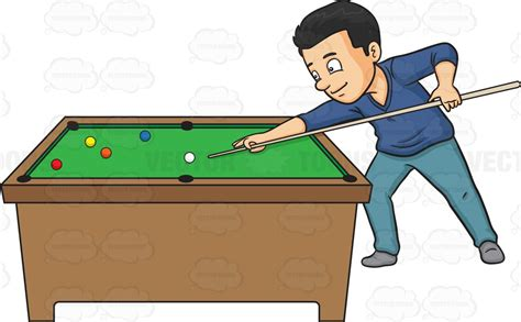 pool table clipart a billiards clipart by vector