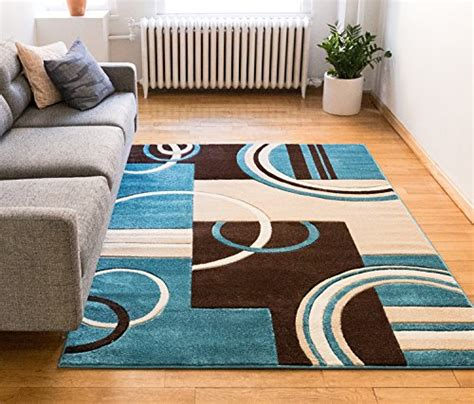 blue and brown area rugs brown and blue geometric rugs