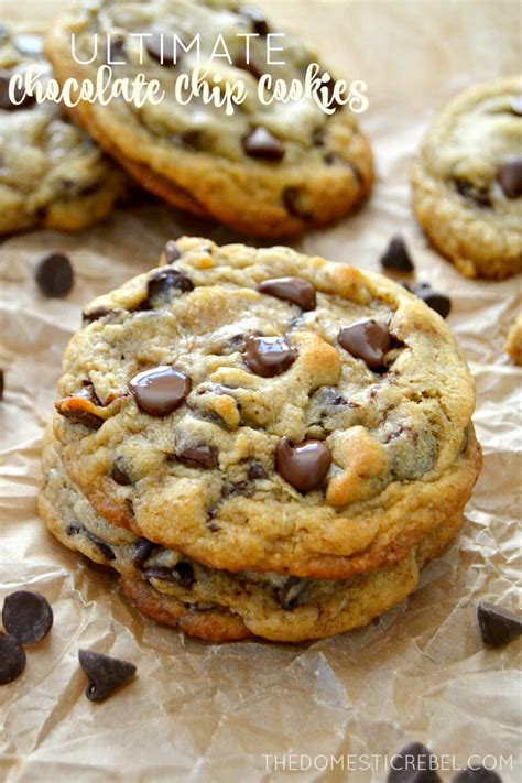 best chocolate chip cookie the best ultimate chocolate chip cookies the domestic rebel