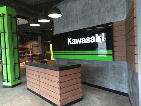kawasaki showroom  signage phnom penh capital arts