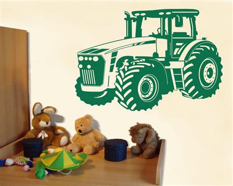 kinderzimmer deko ebay wandtattoo trecker traktor kinderzimmer deko xxxlaufkleber