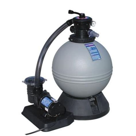 heritage 19 in sand filter and 1 hp motor for above