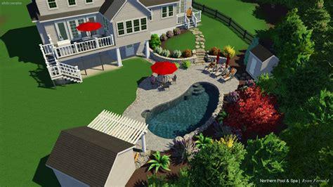 swimming pool designs northern pool spa  nh ma