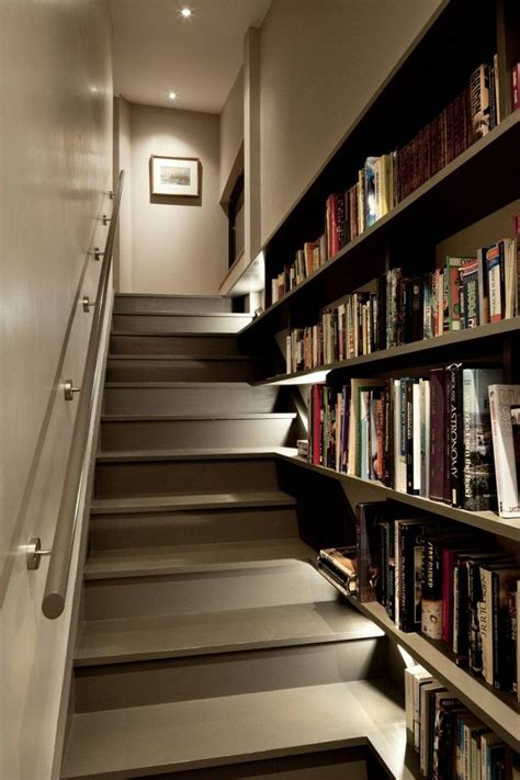 staircase shelves the 25 best ideas about staircase bookshelf on pinterest