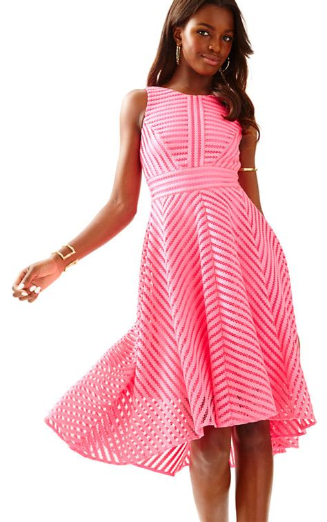 Finneah Stripes Flare Midi Dress trendy fit and flare dresses for summer 2017