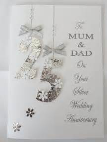 personalised handmade wedding anniversary card 25th 40th 45th 50th etc ebay