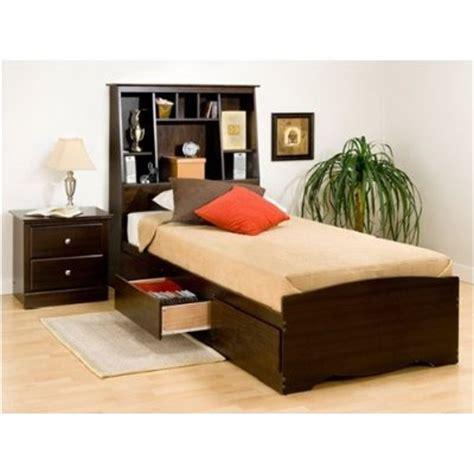 cheap twin beds with storage espresso twin mates storage headboardcheap platform beds