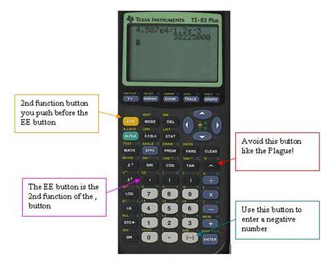 calculator negative lesson 4 scientific notation