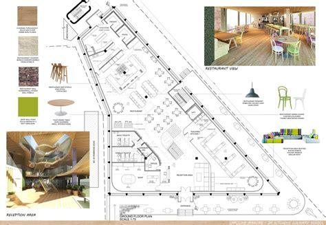 plan floor design culinary school caroline maguire archinect