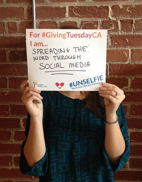 Unselfie Giving Tuesday Template Templates Data Unselfie Giving Tuesday Template
