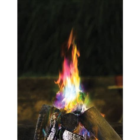 colored flames funky colored flames color changing crystals 3 pack