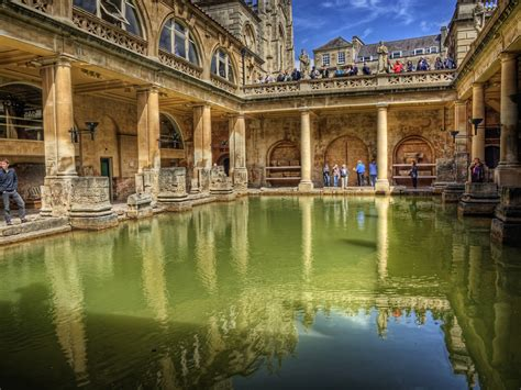 bathtubs uk another view of the great bath in bath uk this is an
