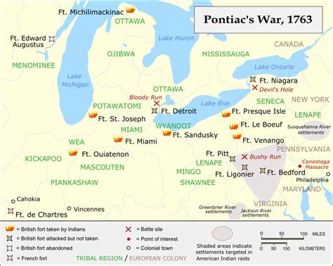 pontiacs rebellion an overview of pontiac s rebellion