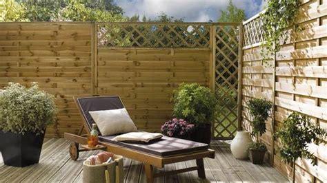 panneaux pour jardin des cl 244 tures de jardin design pour d 233 limiter avec style travaux