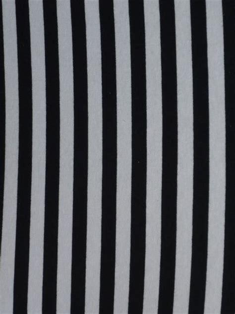 Stripe Spandek black white horizontal stripe cotton lycra jersey 4 way stretch fabric