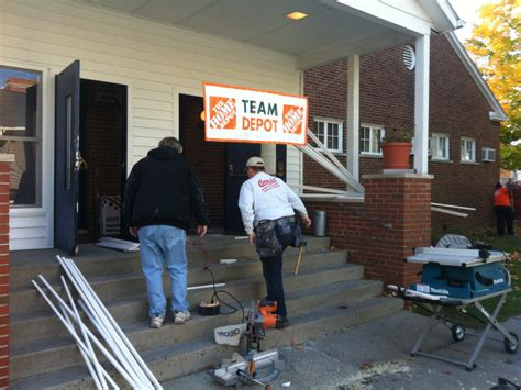 home depot provides upgrades to american legion