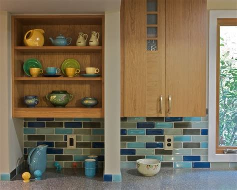 colored subway tile backsplash show me your multi colored subway tile backsplash