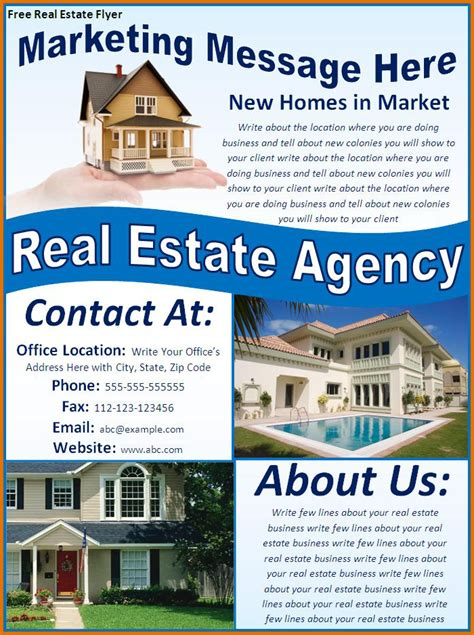 property brochure template free 28 images free real estate