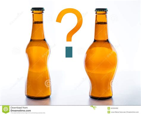 one drink to drink beer fattening or slimming stock photo image