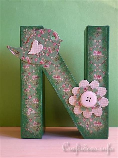 paper mache letters woods craft ideas painting wooden letters 1528