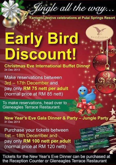 new year buffet promotion early bird promotion for buffet 2013 at pulai