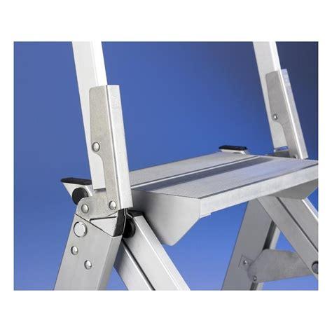 sgabello richiudibile sgabello industriale doppio richiudibile in alluminio con