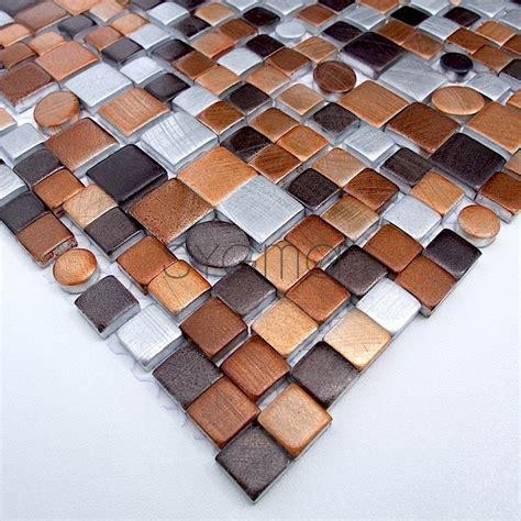 piastrelle alluminio piastrella mosaico in alluminio ma tren mar sygma
