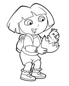 dora colouring sheets dora colouring