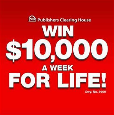 Dream Of A Lifetime Sweepstakes 2015 - pch 10 000 a week for life sweepstakes