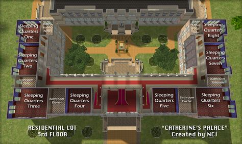 Floor Plans Creator by Mod The Sims Nci Catherine S Palace