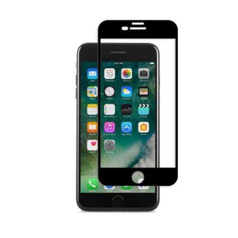 Moshi Ionglass For Iphone X Black 99mo096005 moshi ionglass iphone 7 plus glass screen protector black reviews