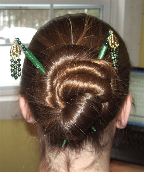hair styles using aneedle hairstyles for hair sticks