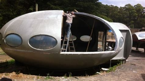 futuro house for sale a replica of the flying saucer futuro house is for sale on gumtree domain