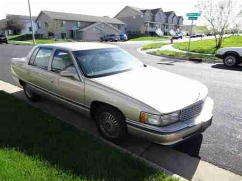 1995 cadillac deville 4 9 l owners manual find used 1995 cadillac deville base sedan 4 door 4 9l parts or engine rebuild great body in