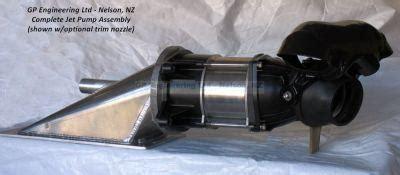 mini jet boat impeller jetboat parts sales gp engineering nelson new zealand