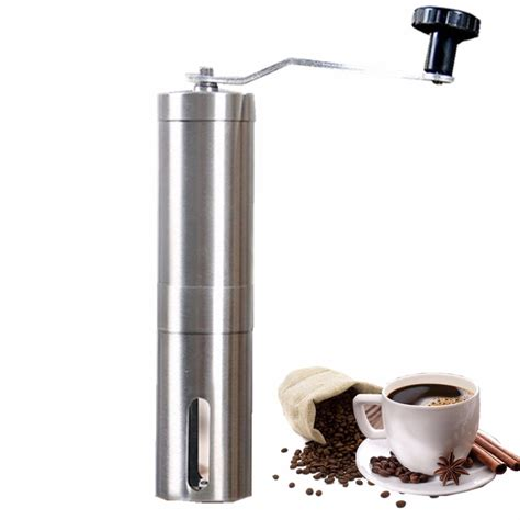 Ginding Cuanki Express 23 manual coffee grinder steel ceramics coffee mill cafe burr mill grinder