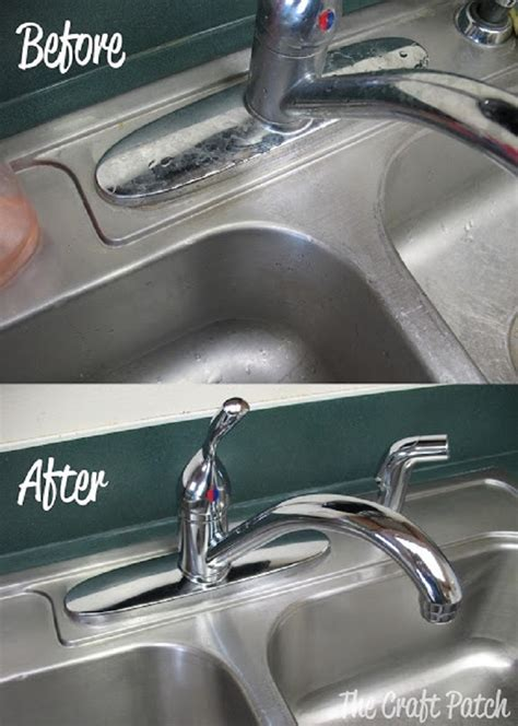 best way to clean stainless steel kitchen sink top 10 best kitchen sink cleaning tips top inspired