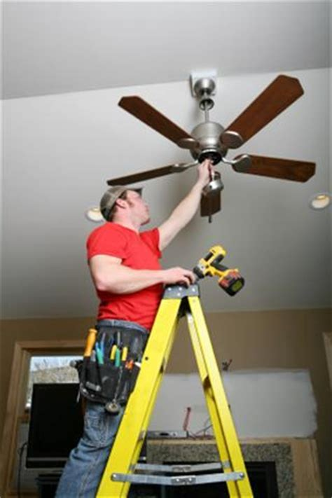 Electrician Cost To Install Ceiling Fan by The Greater Kansas City Area Ceiling Fan Installation And