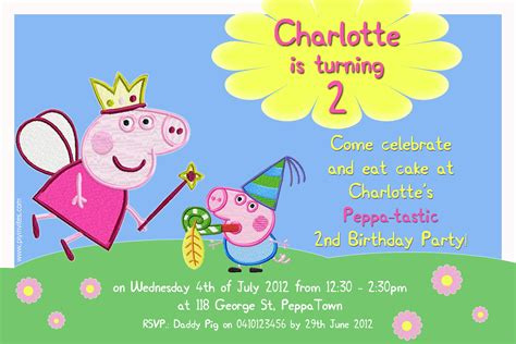 party fun for little ones charlotte s peppa pig 2nd