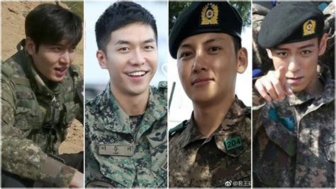 lee seung gi ji chang wook the military life of handsome korean actors born in 1987