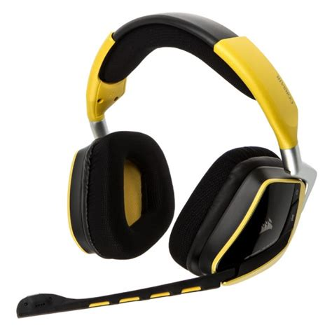 Corsair Void Wireless Yellowjacket Special Edition Gaming Headset corsair gaming void wireless gaming headset se yellowjacket gapl 644 from wcuk